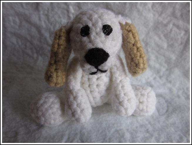 Prince the Tiny Puppy Crochet Pattern