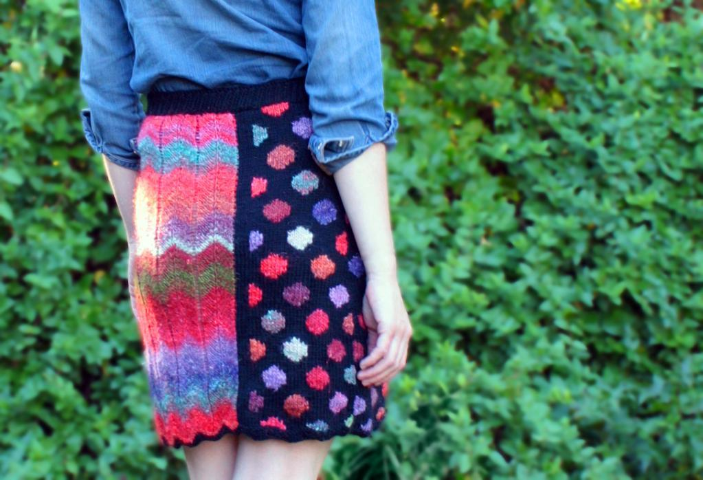Bridgette skirt knitting pattern