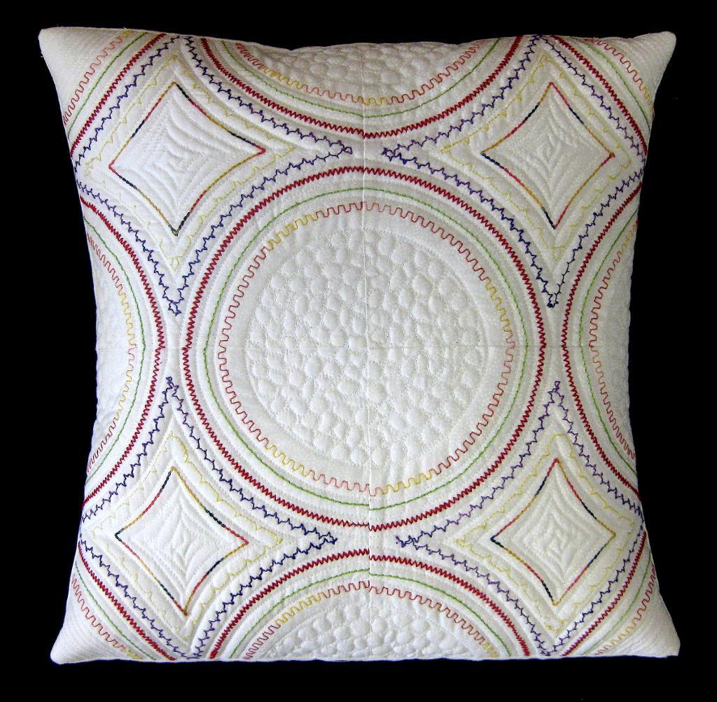 Modern Stupendous Stitching Pillow