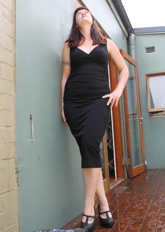 Custom Stretch Wiggle Skirt