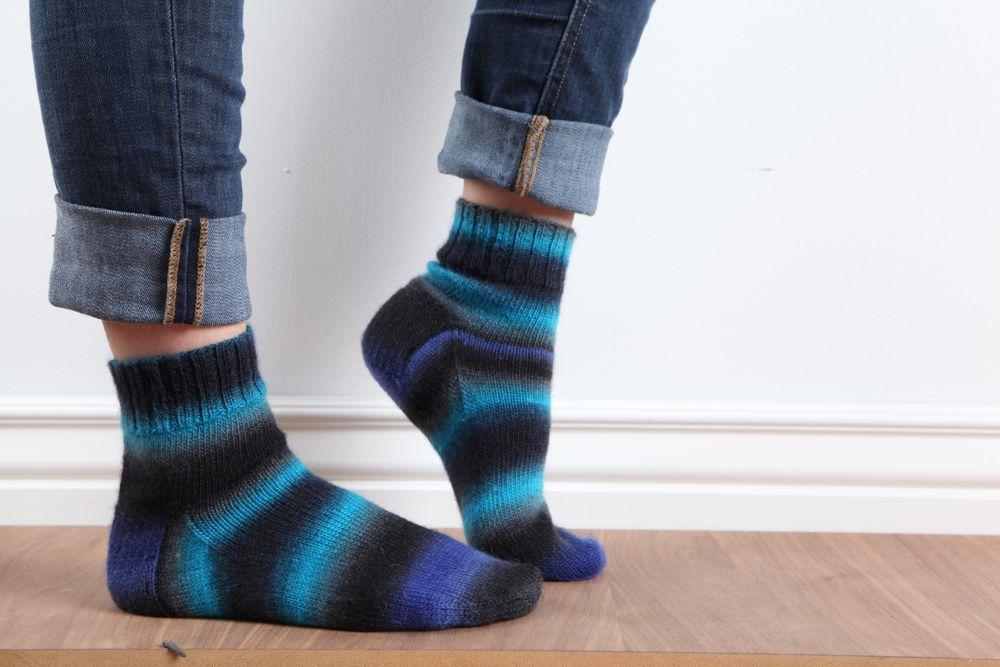 Cuddly knit socks