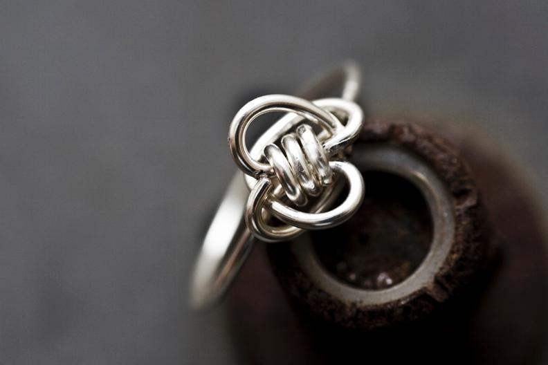 DIY Twin Hearts Ring Pattern on Bluprint!