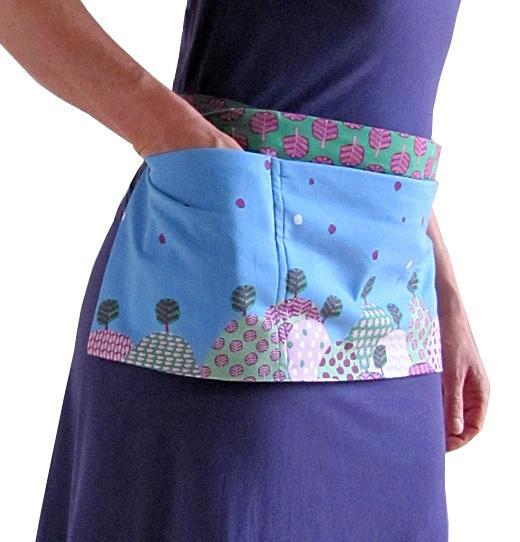 Market apron sewing pattern