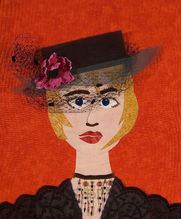 Sophistcate portrait quilt design