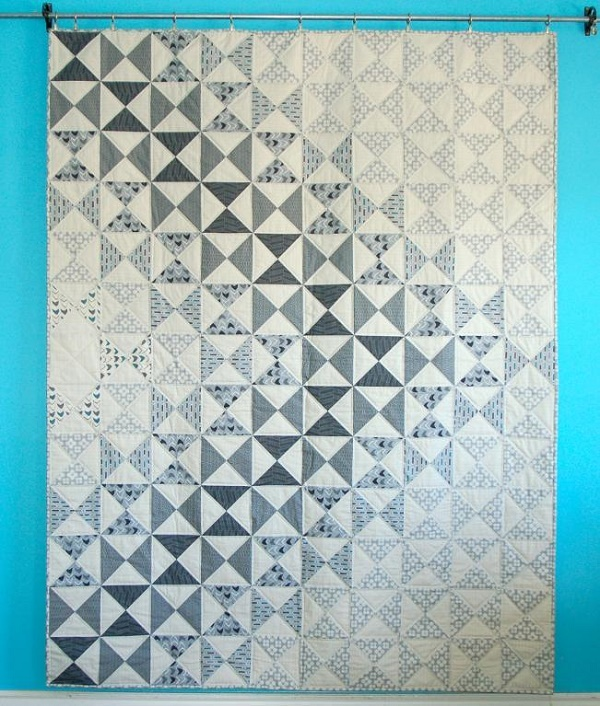Neutral Quilt Top on Bluprint