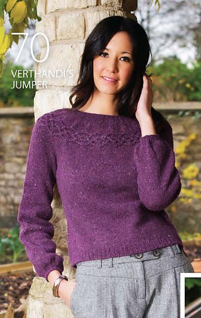 Verthandi's Jumper knitting pattern