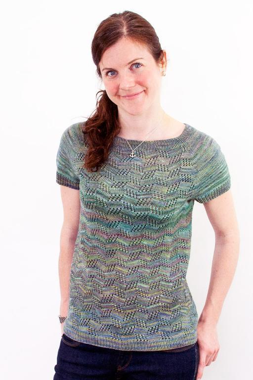 Let's Dance sweater knitting pattern