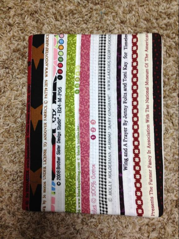Quilt Journal Cover -- Free Pattern on Bluprint!