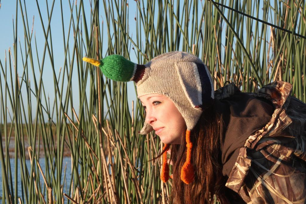 The Duck Hat via Craftsy Member Emily Ringelman Designs