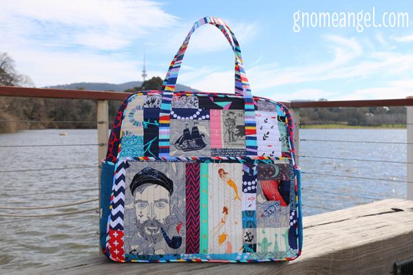 Sewvivor Nautical Weekender Bag