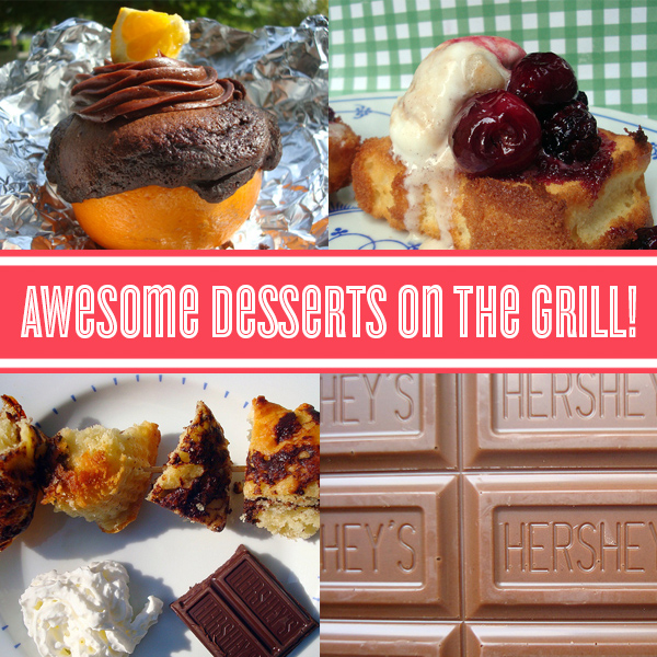 Awesome, easy grilled desserts on Craftsy!
