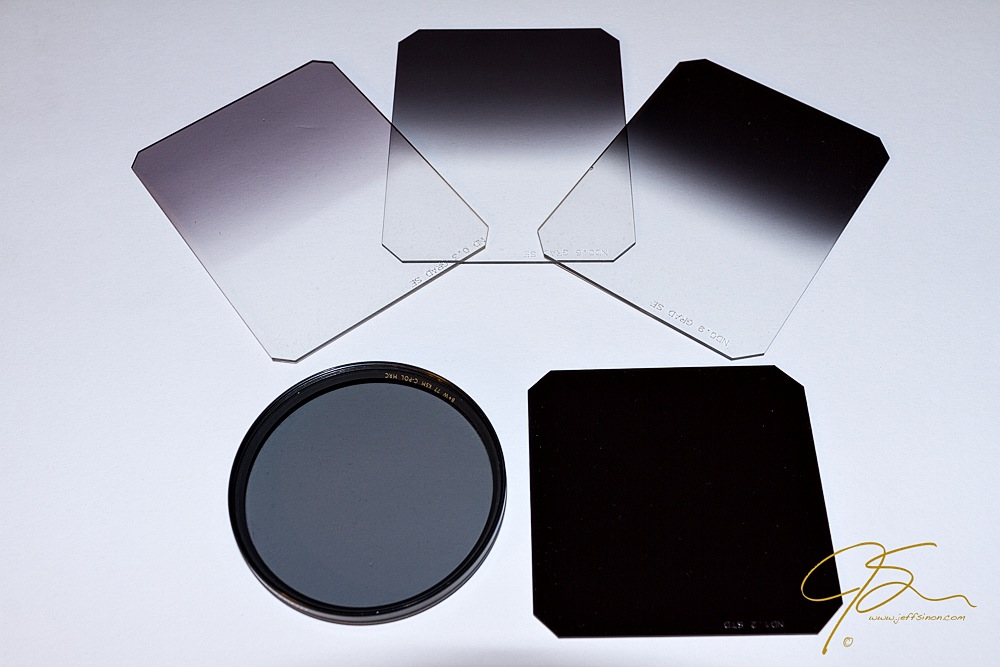 My most used lens filters.