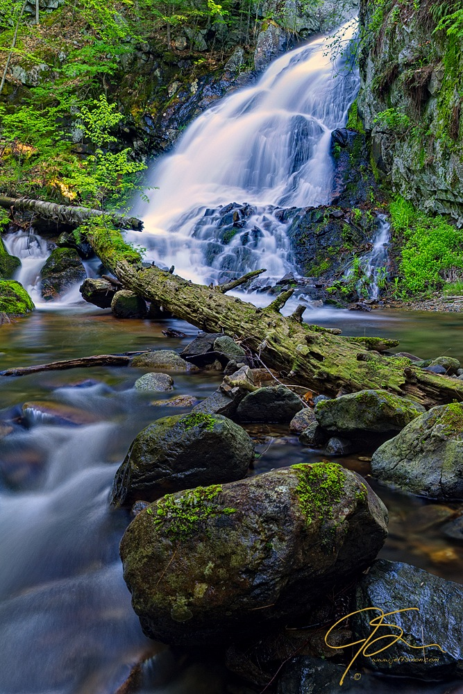 Bridal Veil Falls on Shannon Brook, Moultonborough, NH