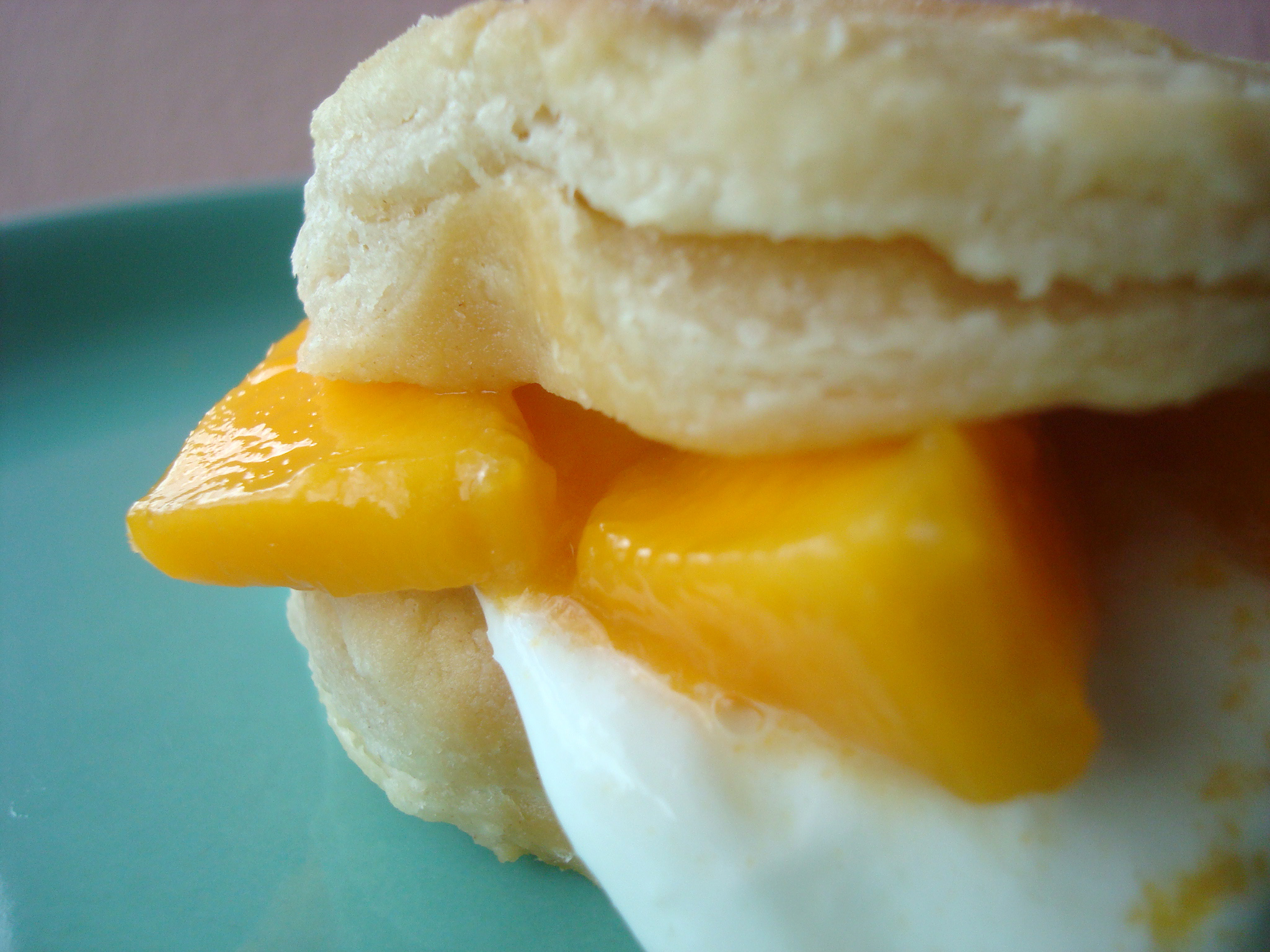 Biscuit with mango
