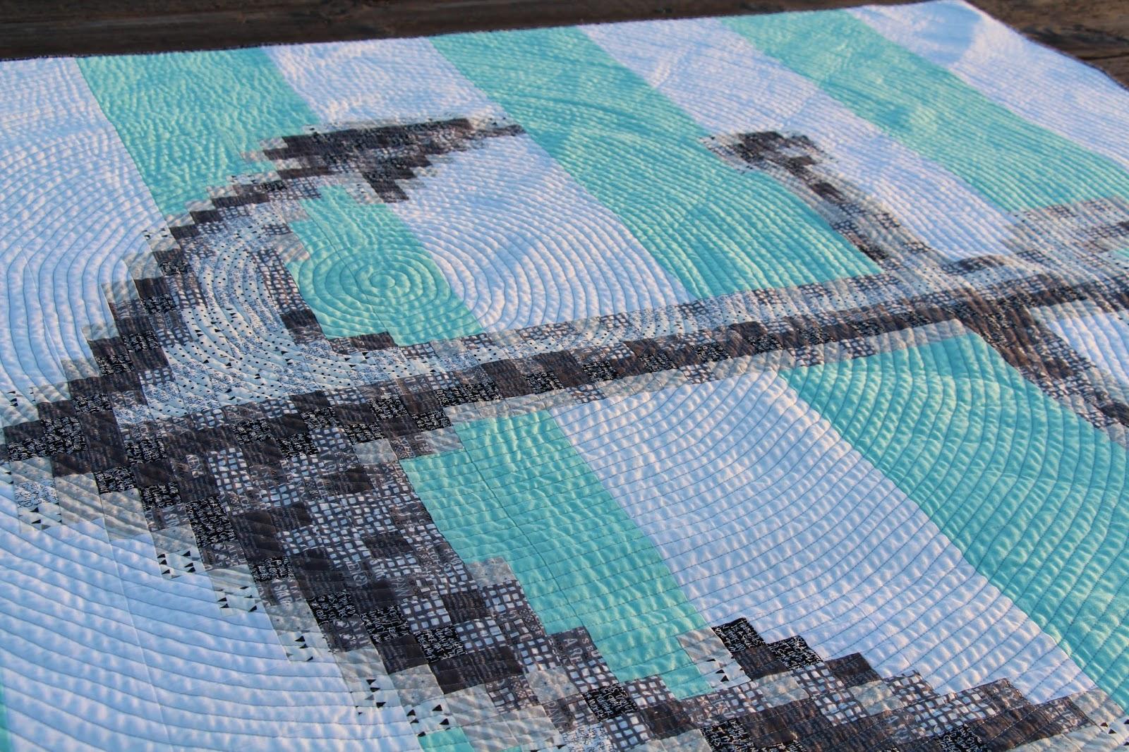 nautical quilt stitch mischief