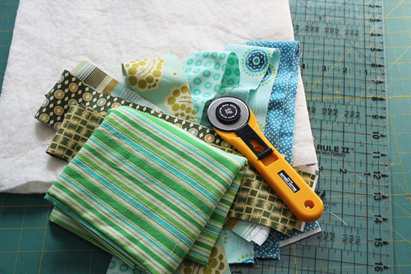 supplies for quilt as you go basics