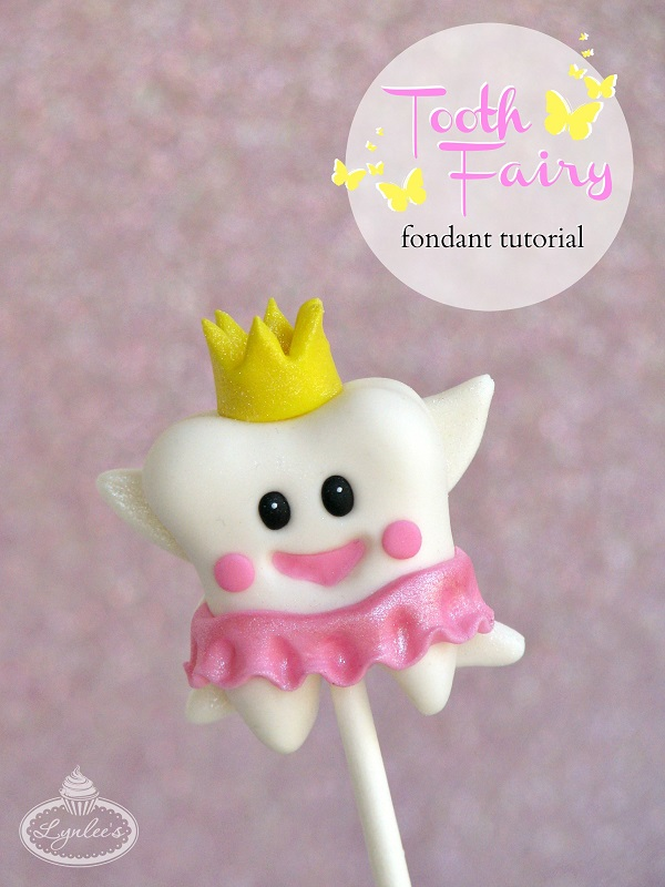 Tooth Fairy fondant tutorial