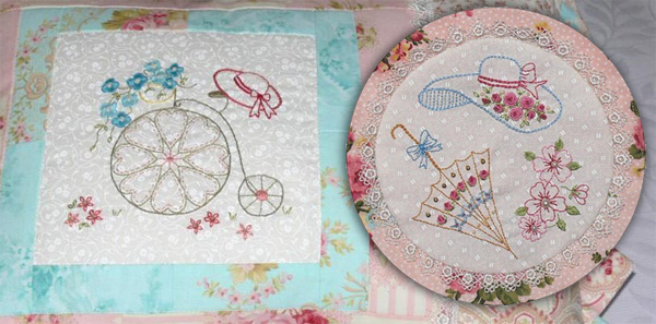 Patterns from Bluprint member Val Laird Designs