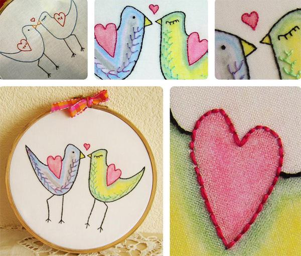 Bluprint member Julie Bull's pattern My Funny Valentine