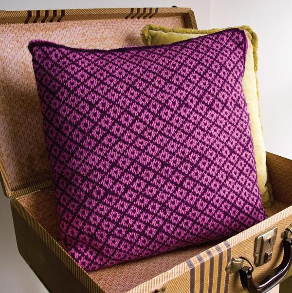 Fair Isle Pillow knitting pattern
