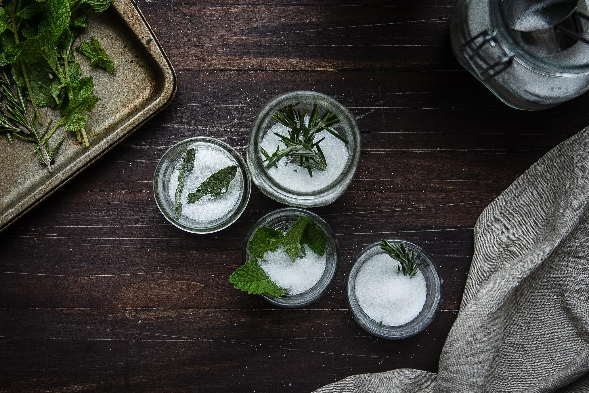herb-infused sugars