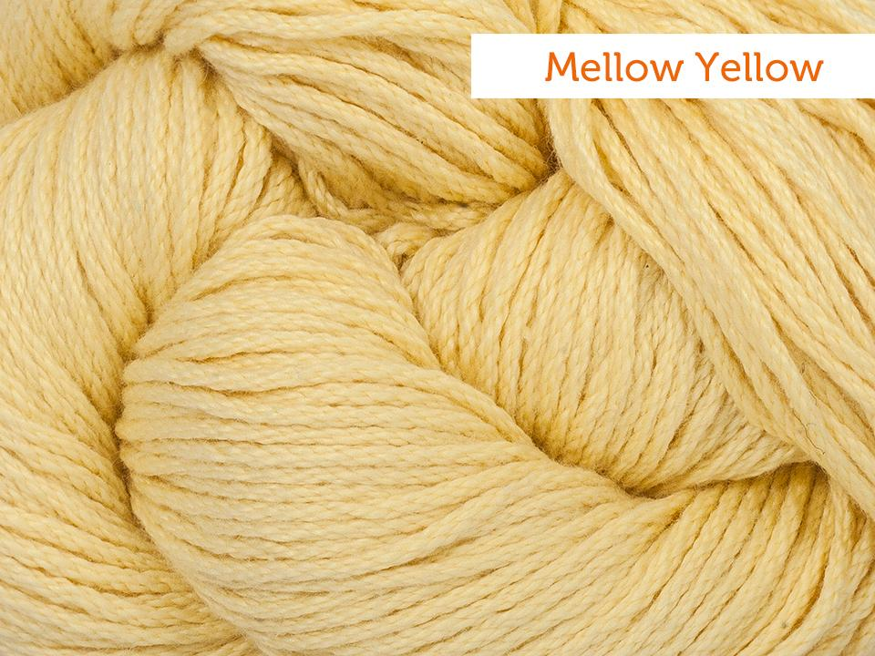 Cascade Avalon yarn in Mellow Yellow