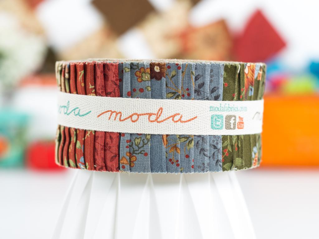 Moda Celeste Jelly Roll, available on Craftsy