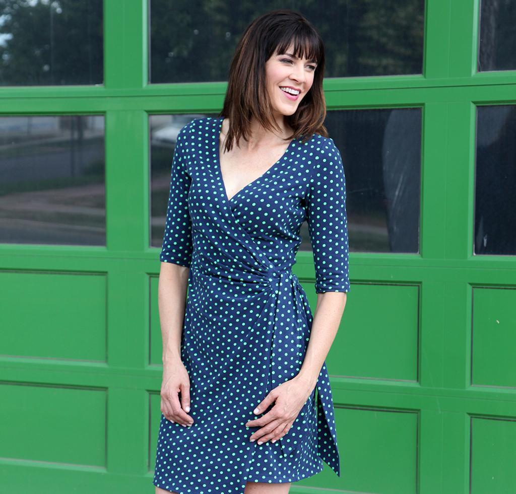 That's a Wrap Dress sewing pattern kit