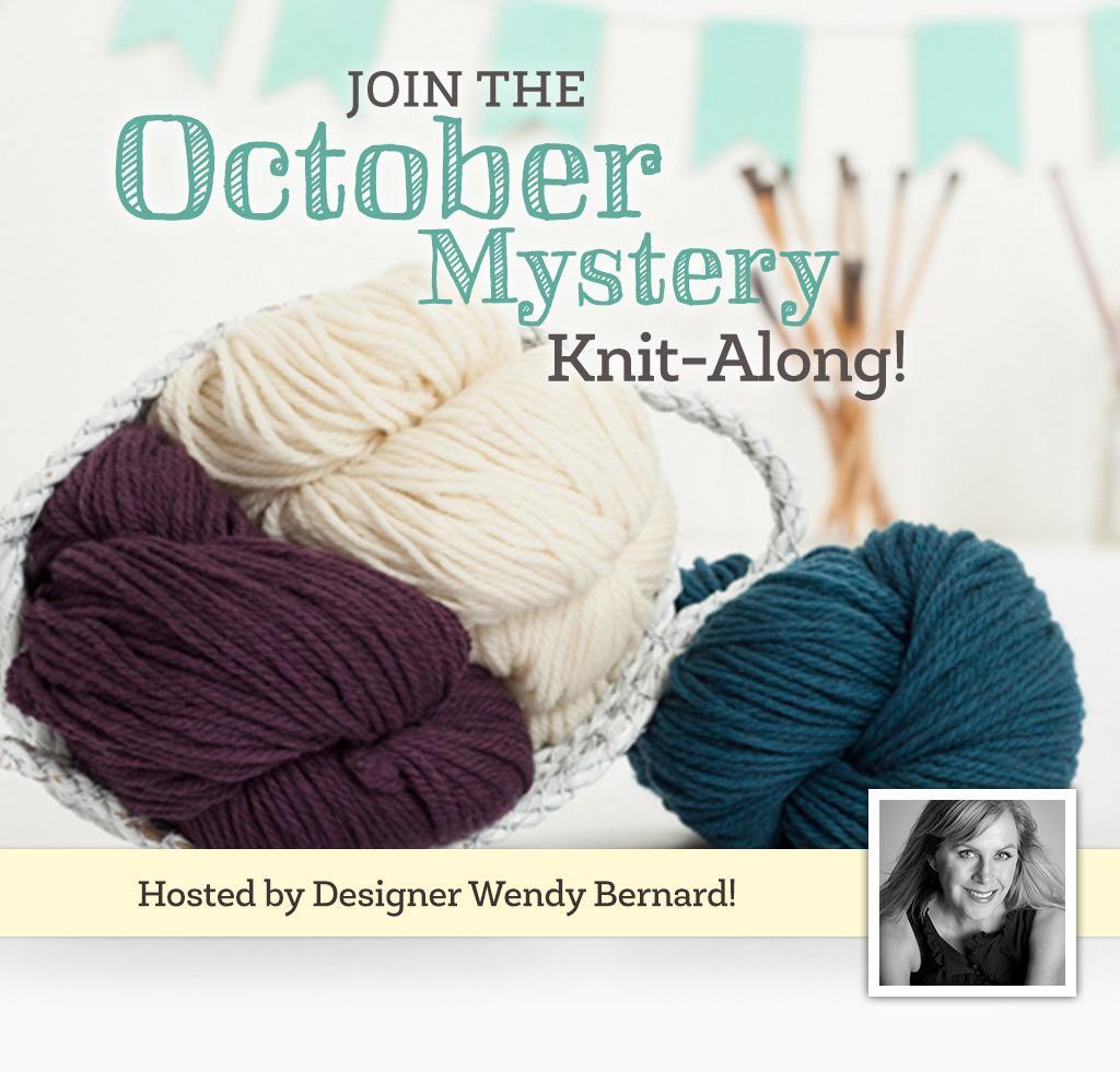 October Mystery Knit-Along on Bluprint