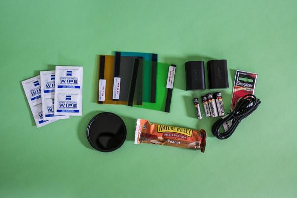 Some vital accessories