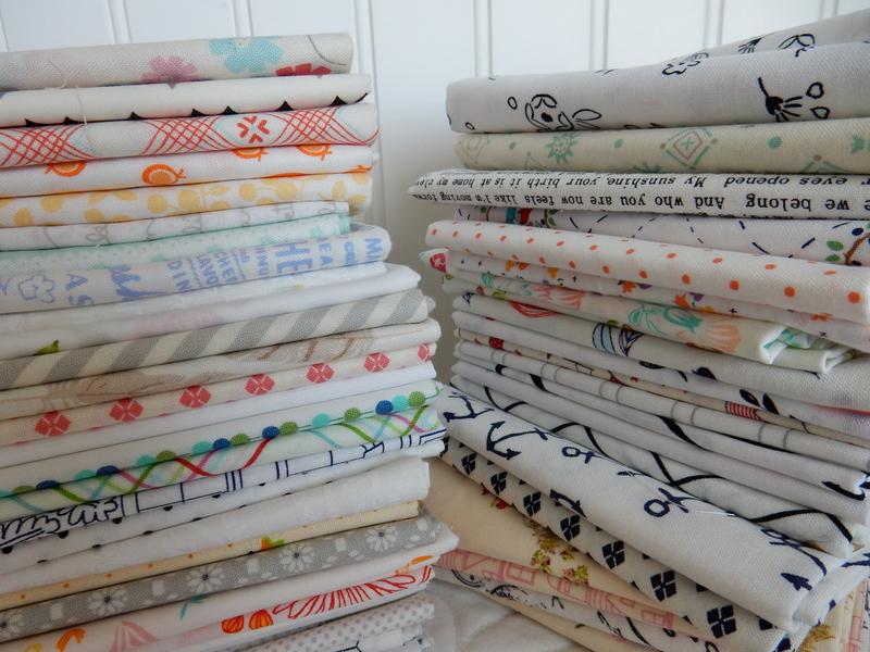 Low-volume quilt fabrics