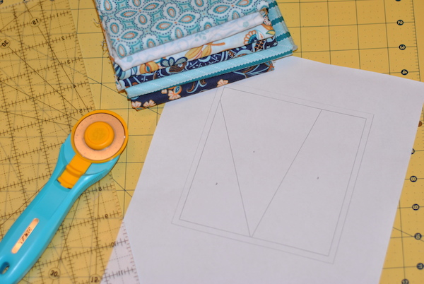 Quilting Supplies for Paper Piecing