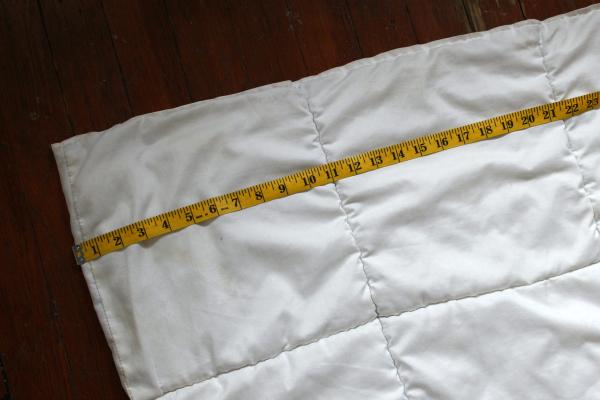 duvet cover measurement