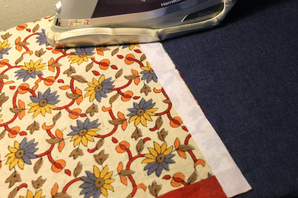 fuse interfacing to duvet cover