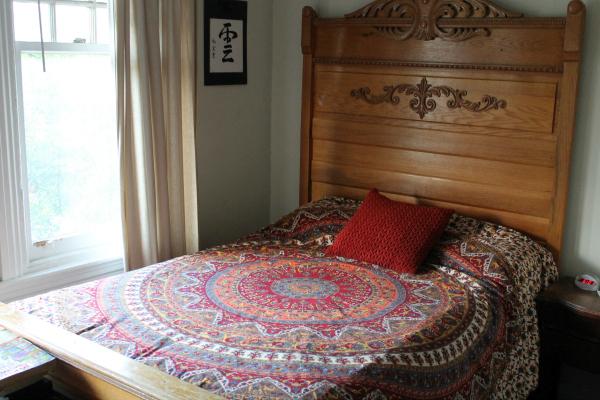 Duvet finished on bed