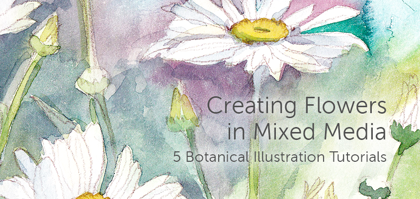 Creating Flowers in Mixed Media — Free Craftsy eGuide!