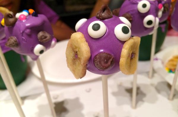 funny cake pops