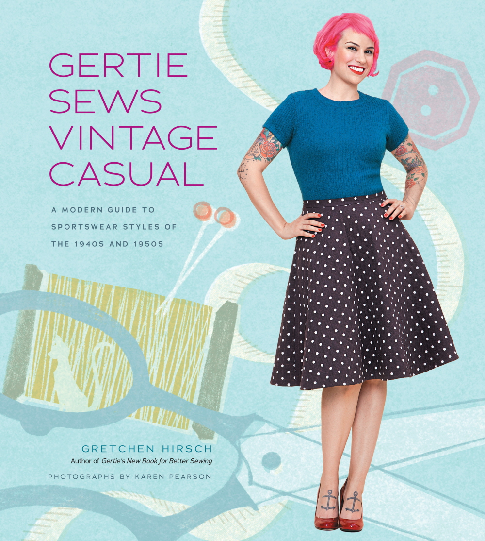 Gertie Sews Vintage Casual book cover