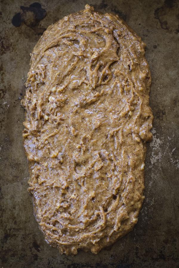 Shaping Mandel Bread Batter
