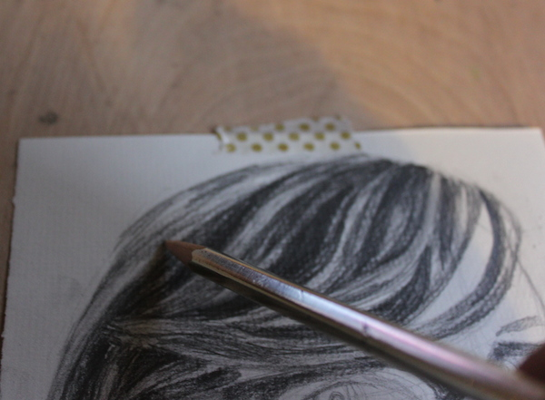 Defining hair