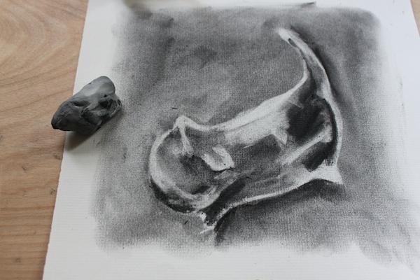 In progress drawing 3