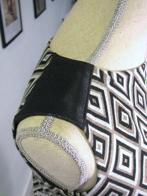 leather shoulder epaulet