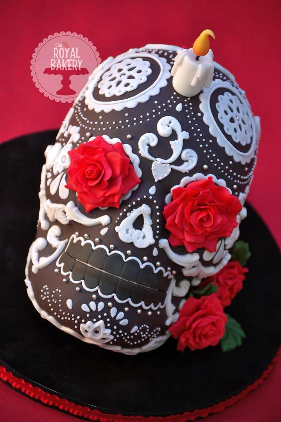 Incredible Dia de Los Muertos cake