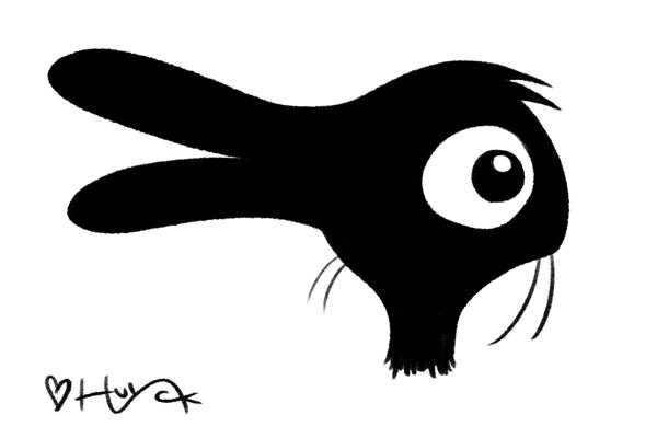 Duck/Rabbit silhouette