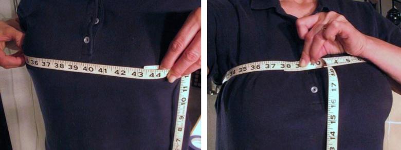 Measuring your bustline