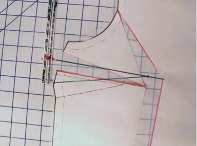 Measuring dart points