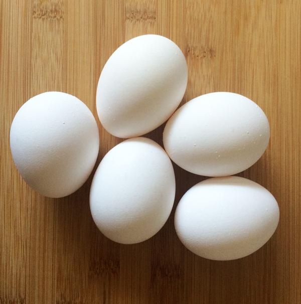 room temp eggs