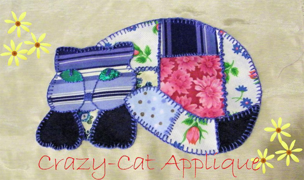 Applique cat