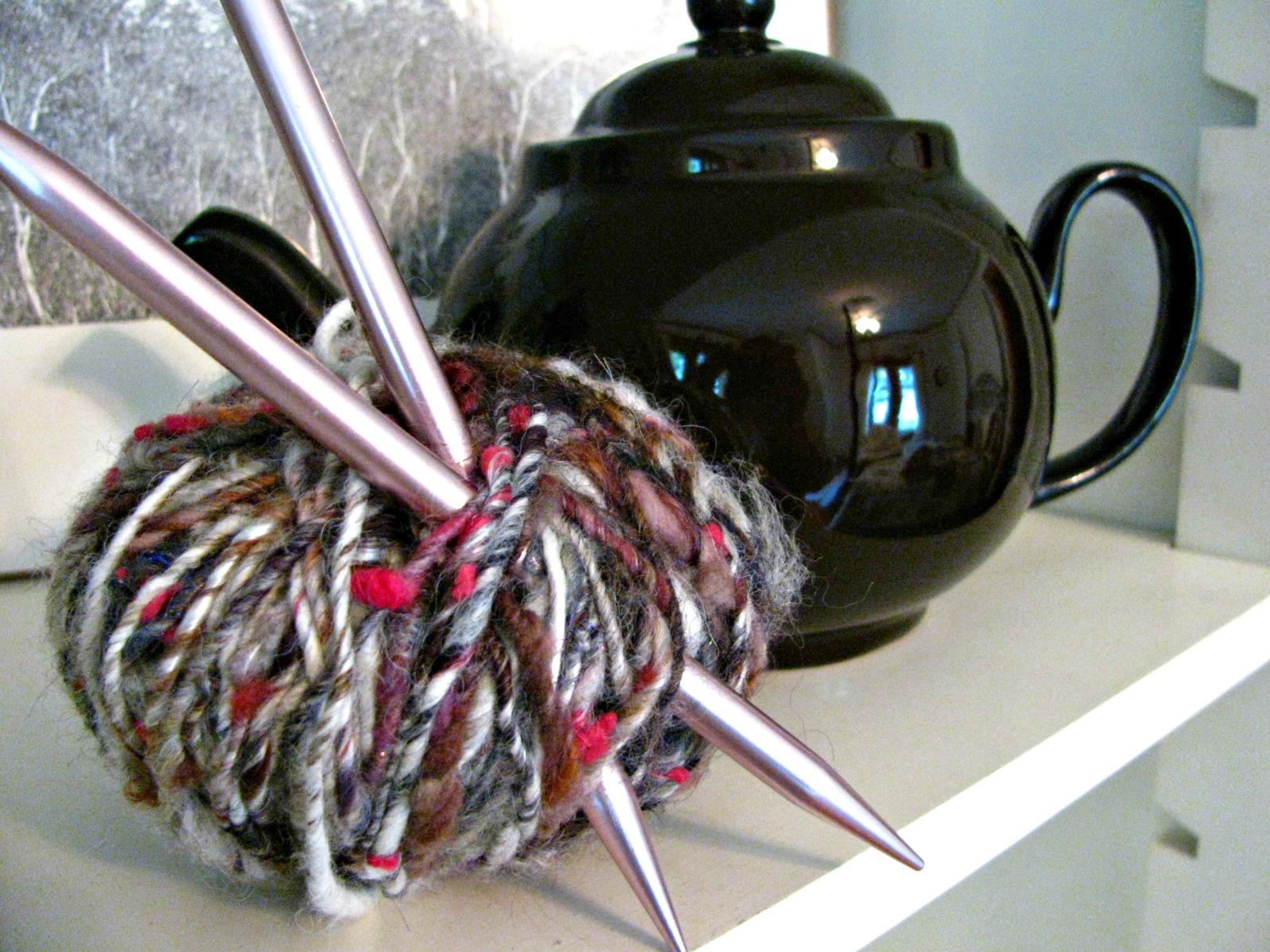 Art yarn ball