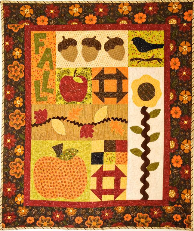 Fall Frolic quilt